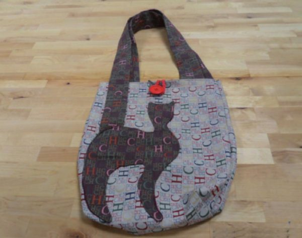 Borsa chat brown made in Italy realizzato a mano.